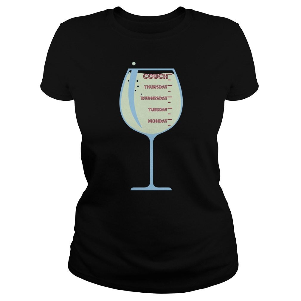 Wine On The Couch Shirt