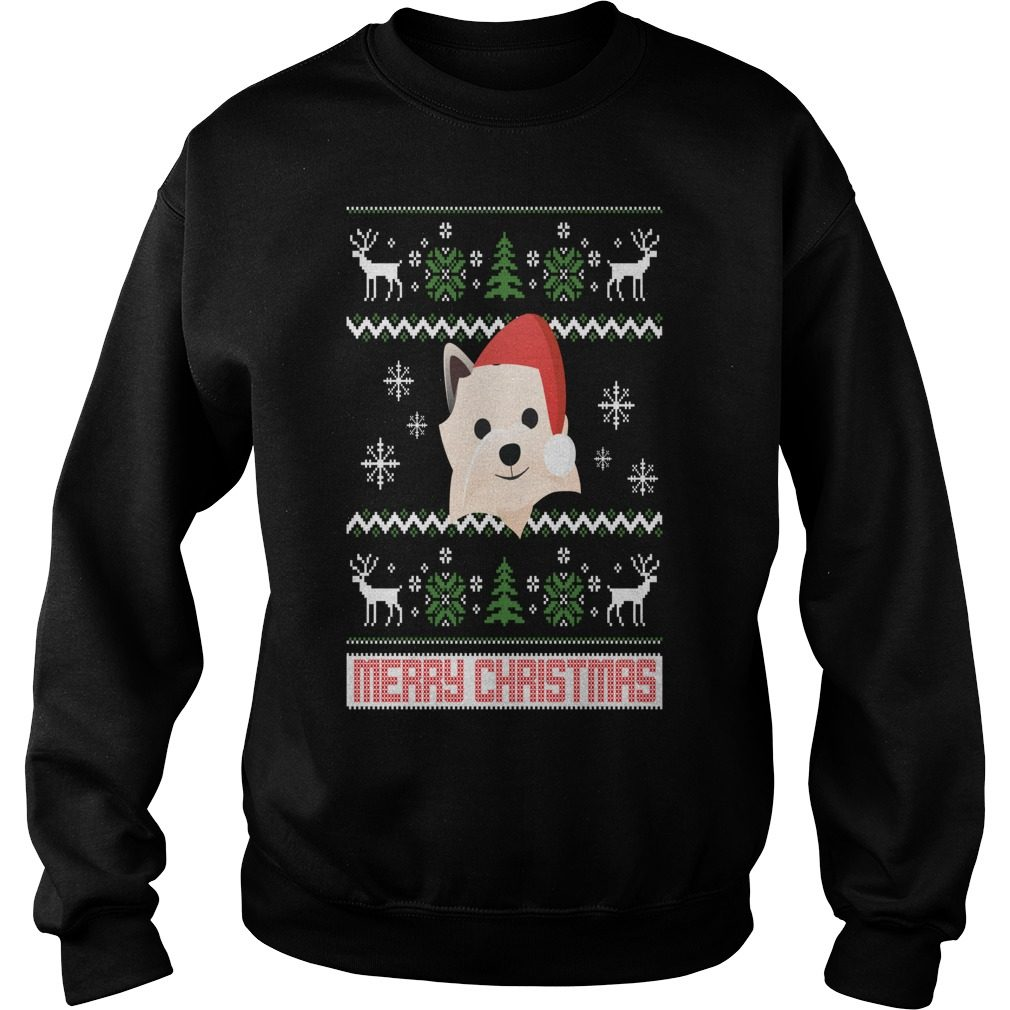 Cairn Terrier Santa Snow Christmas Sweater