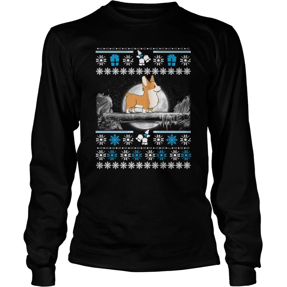 Corgi Ugly Christmas Sweater