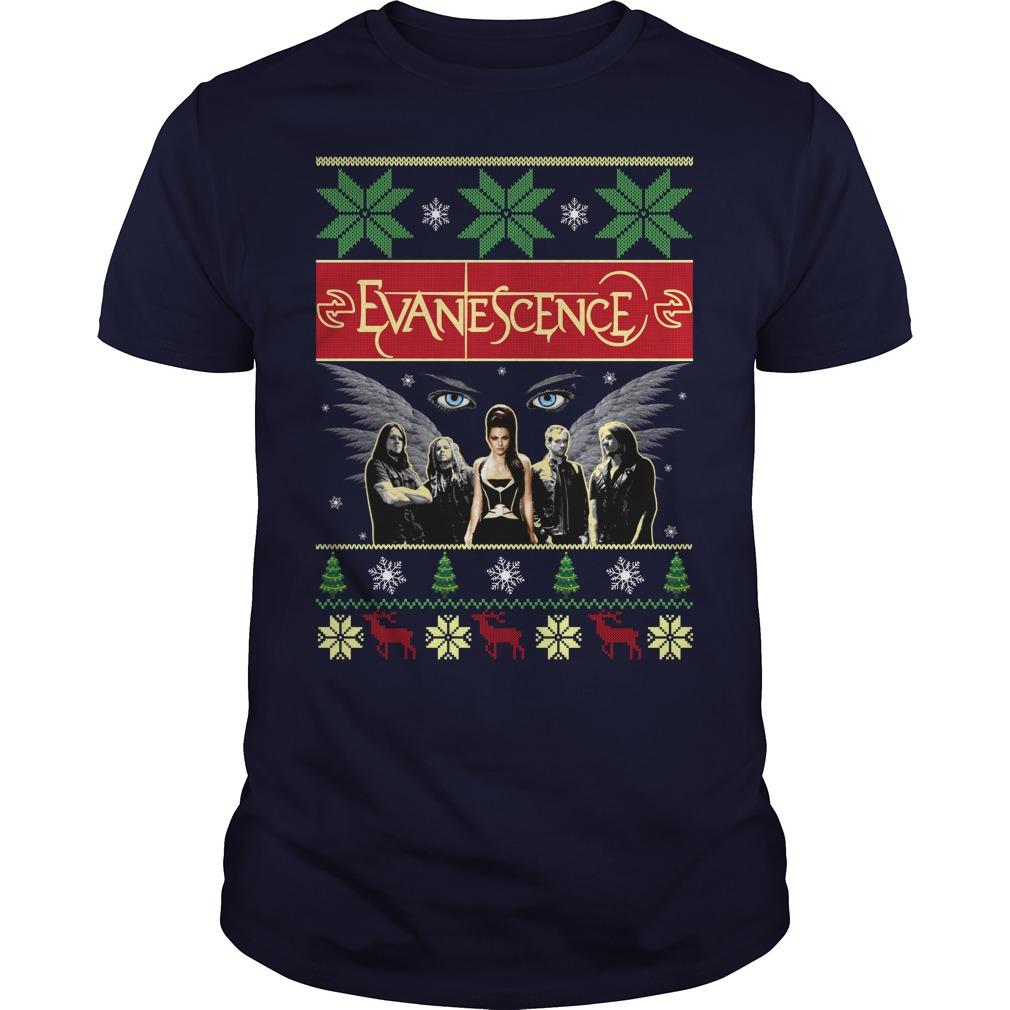 Evanescence christmas Guys Shirt