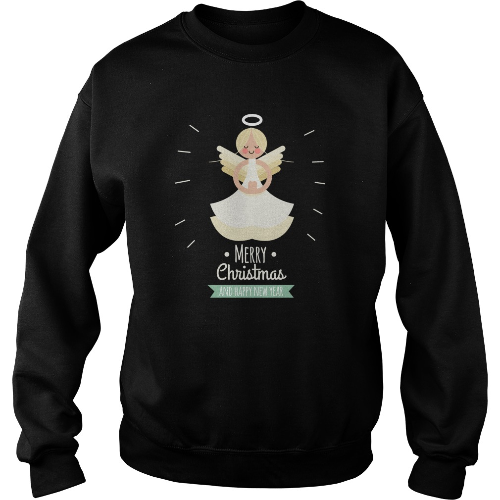 Fairy Merry Christmas And Happy New Year Sweater