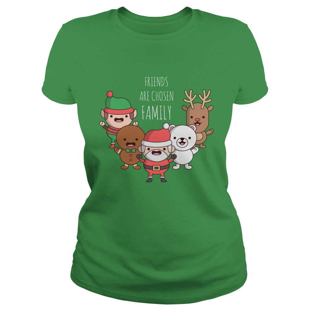 Friends Are Chosen Family Christmas Sweater