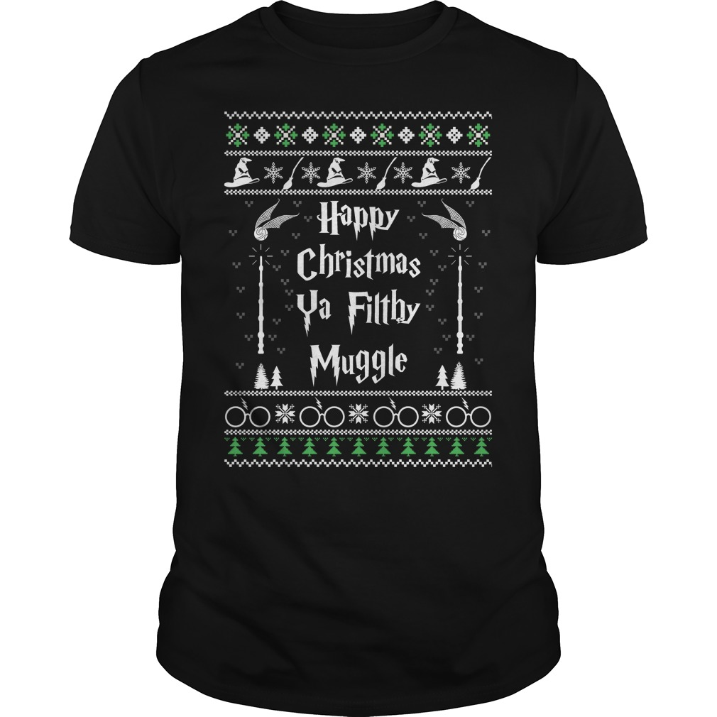 Happy Christmas Ya Filthy Muggle Sweater