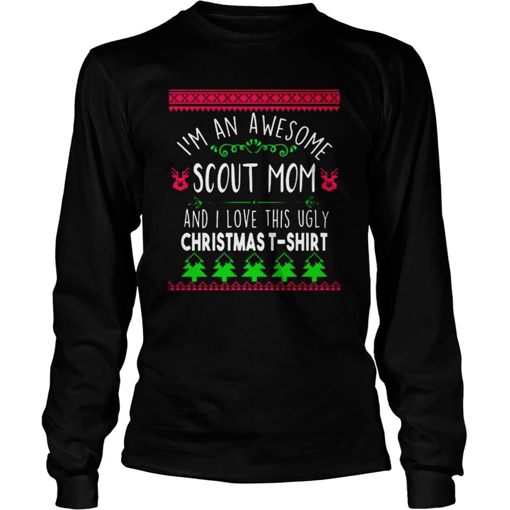 I'm A Scout Mom Ugly Christmas Sweater