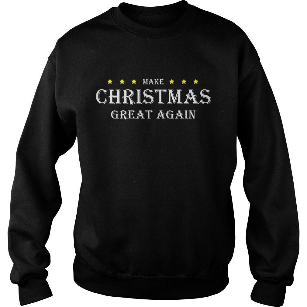 Make Christmas Great Again Sweater