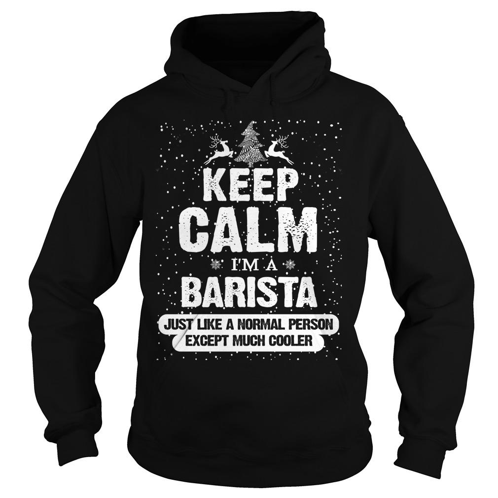 Merry Barista Christmas Sweater