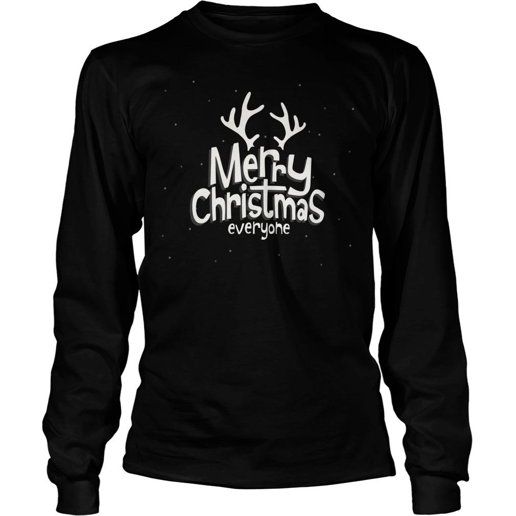 Merry Christmas Everyone Sweater