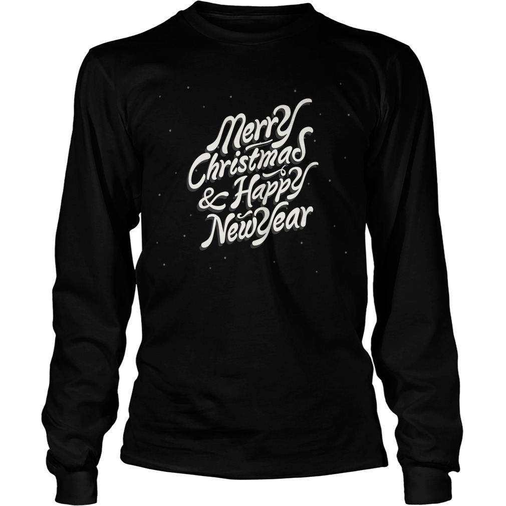 Merry Christmas & Happy New Year Sweater