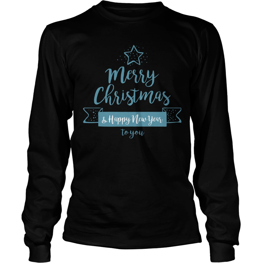 Merry Christmas And Happy New Year To You Sweater