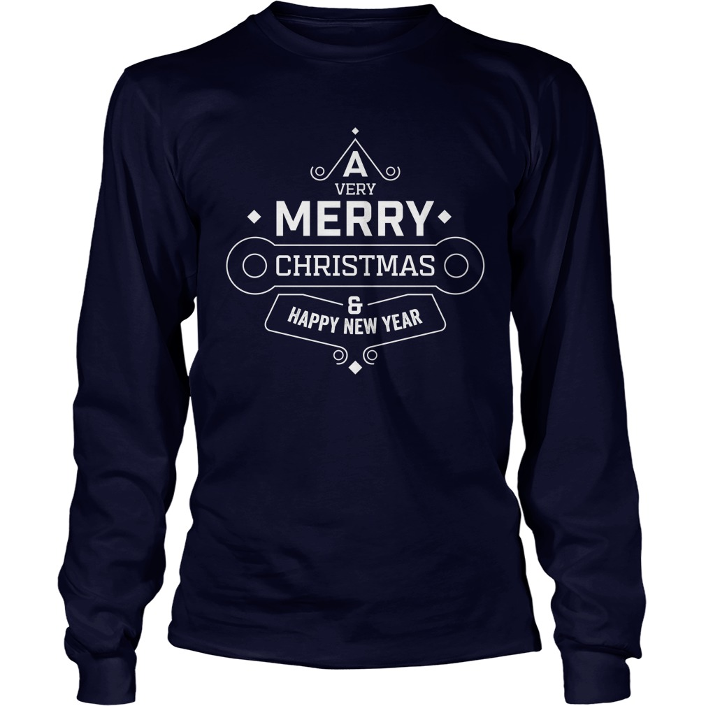 A Very Merry Christmas & Happy New Year Sweater