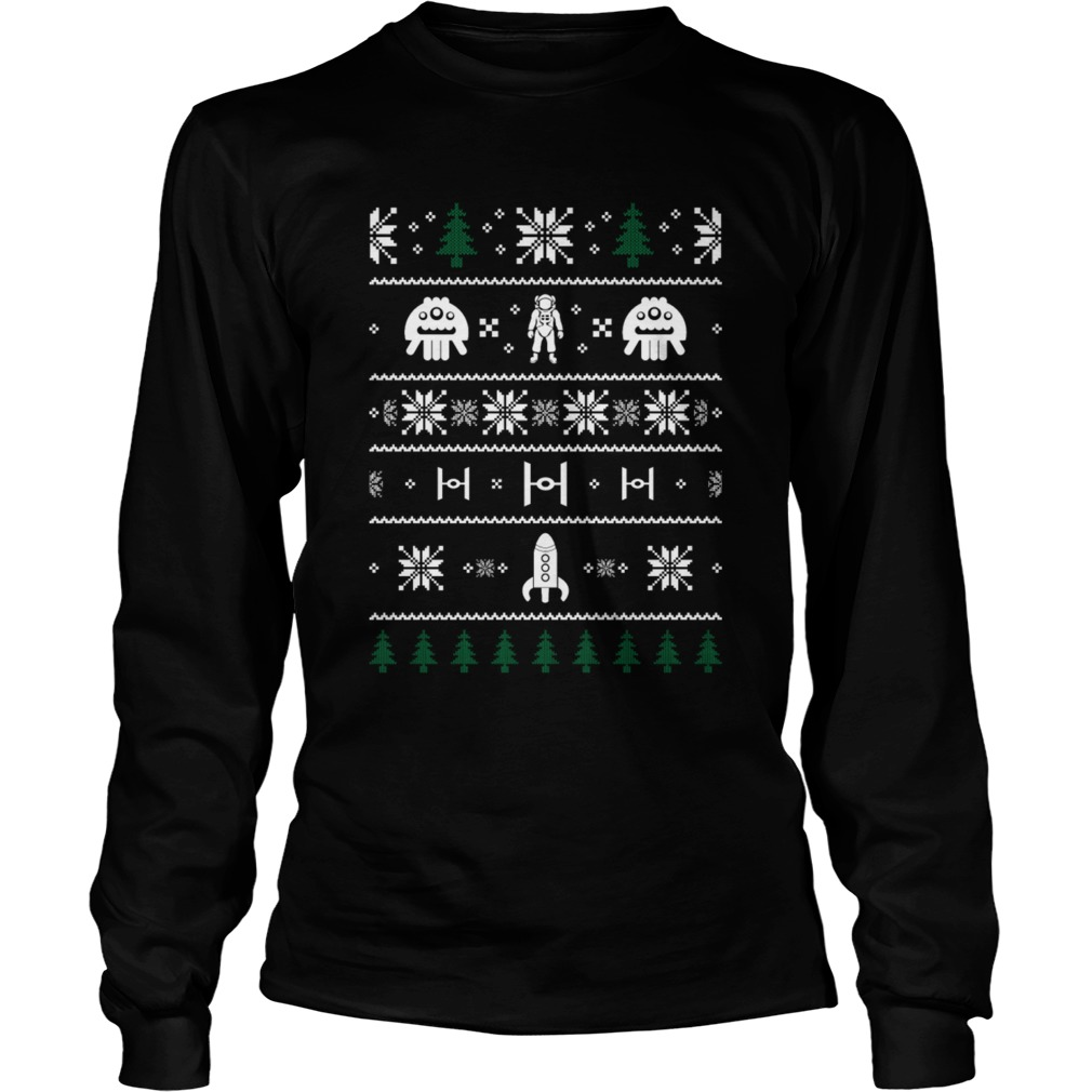 Space Christmas Ugly Sweater