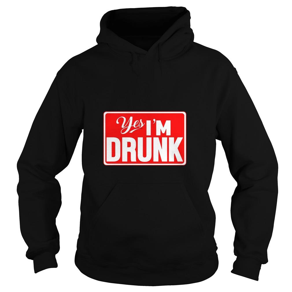 Yes, I'm Drunk Men's Hoodie