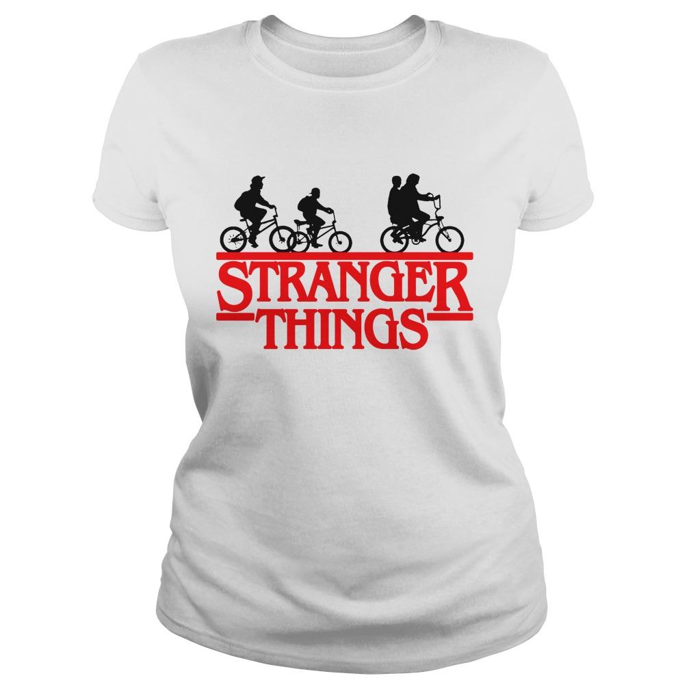 Bikes Stranger Things Shirt