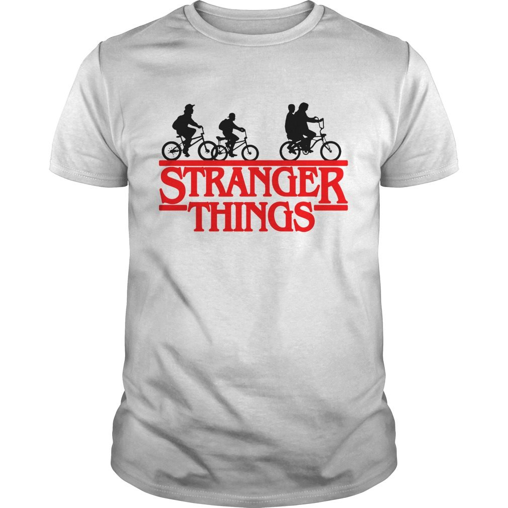 Bikes Stranger Things Shirt