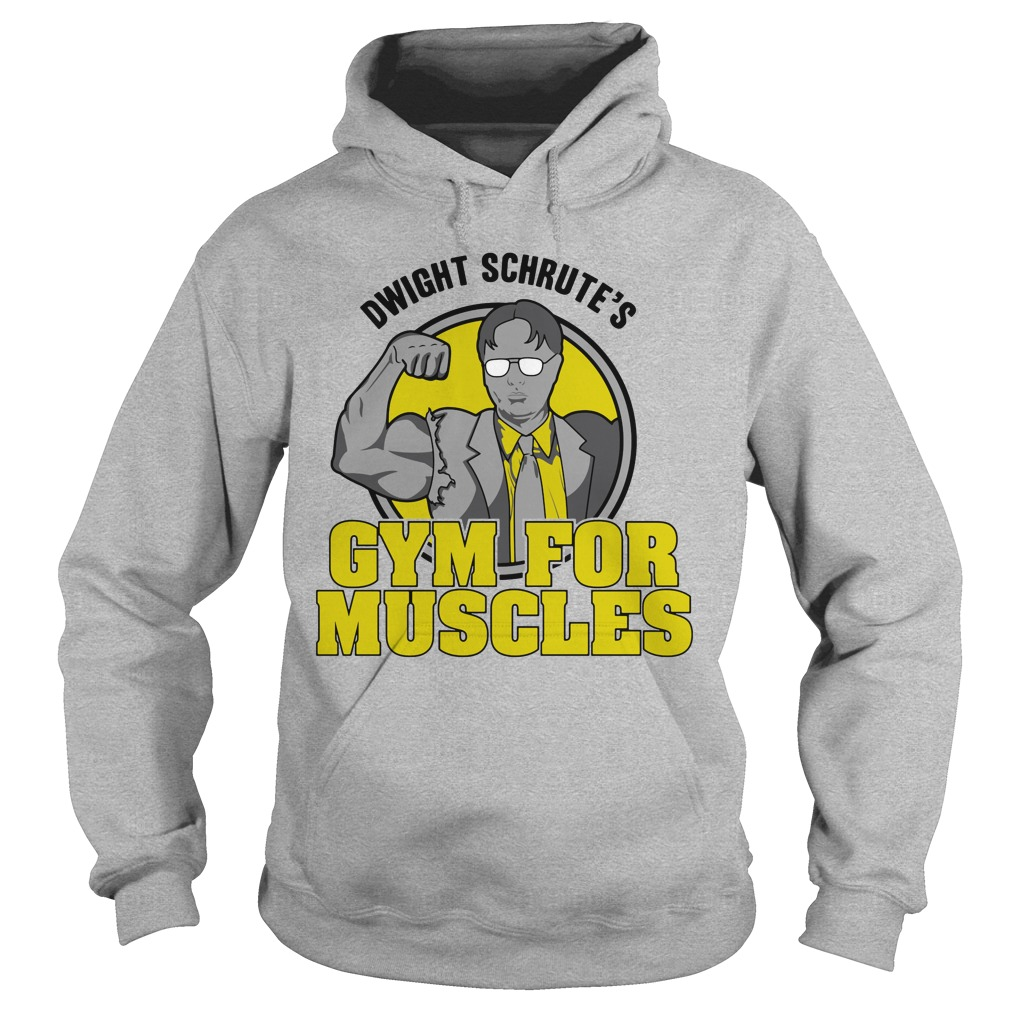 Dwight Schrute's Gym For Muscles Shirt, Hoodie, Sweater And Tank Top