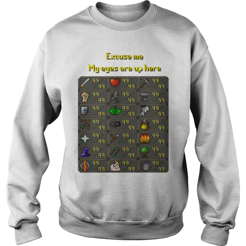 Excuse Eyes Sweater