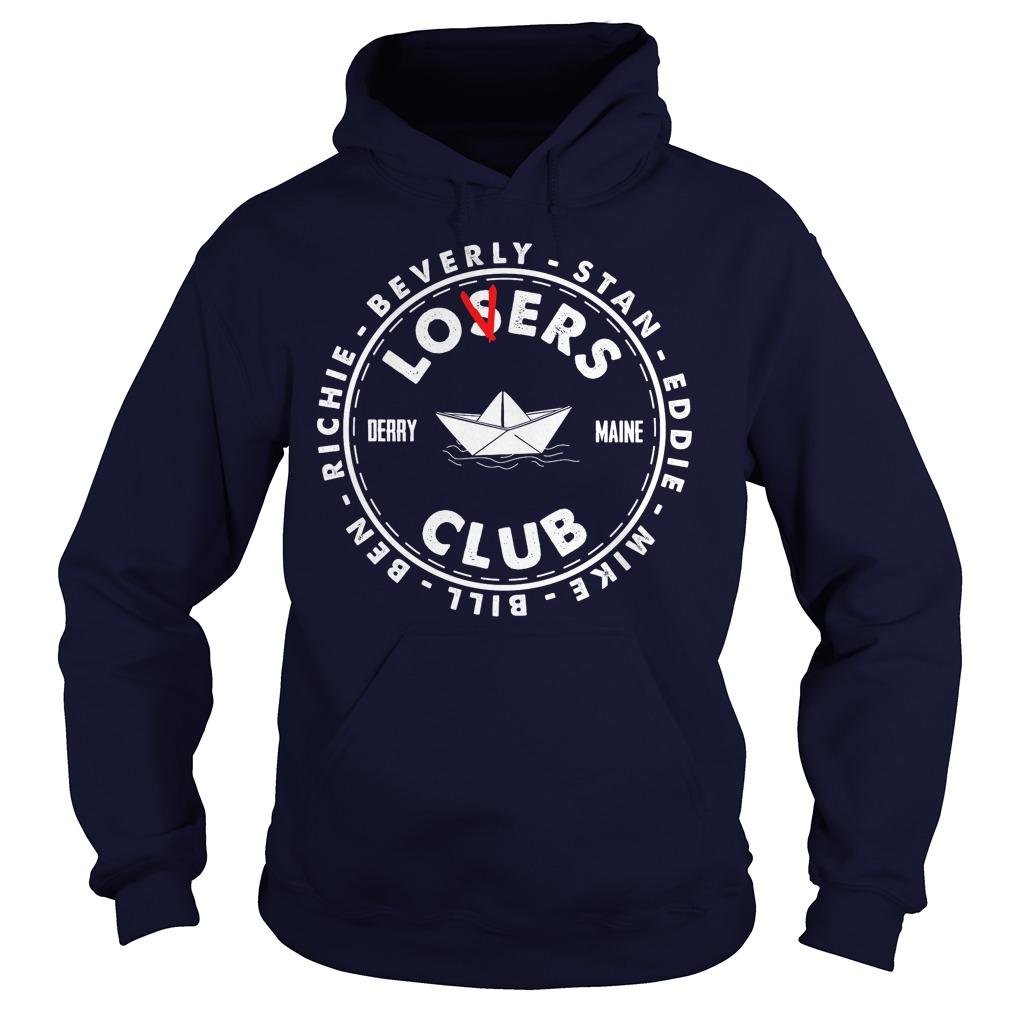Losers Lover Club Derry Maine Stephen King Hoodie