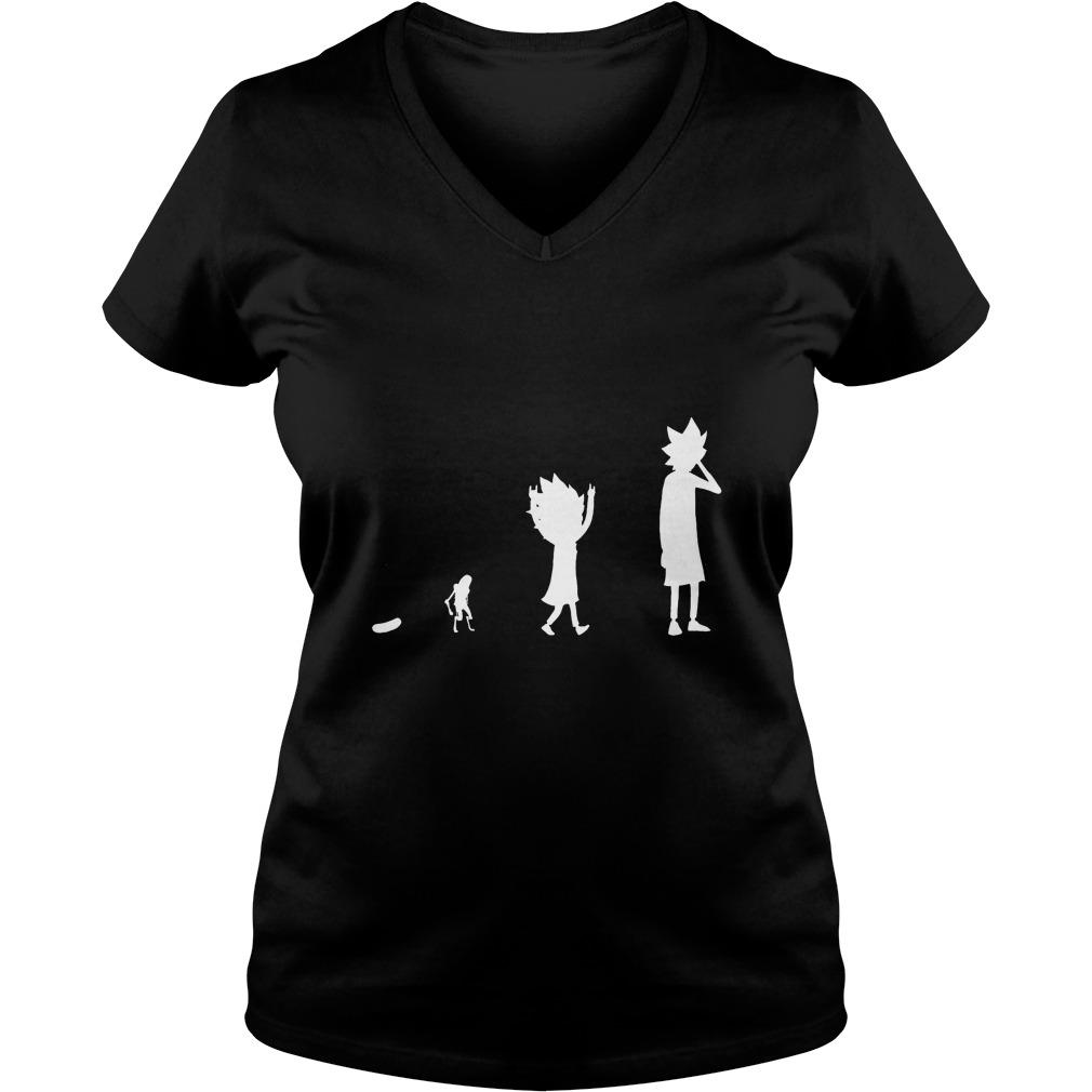 Pickle Rick Evolution Shirt