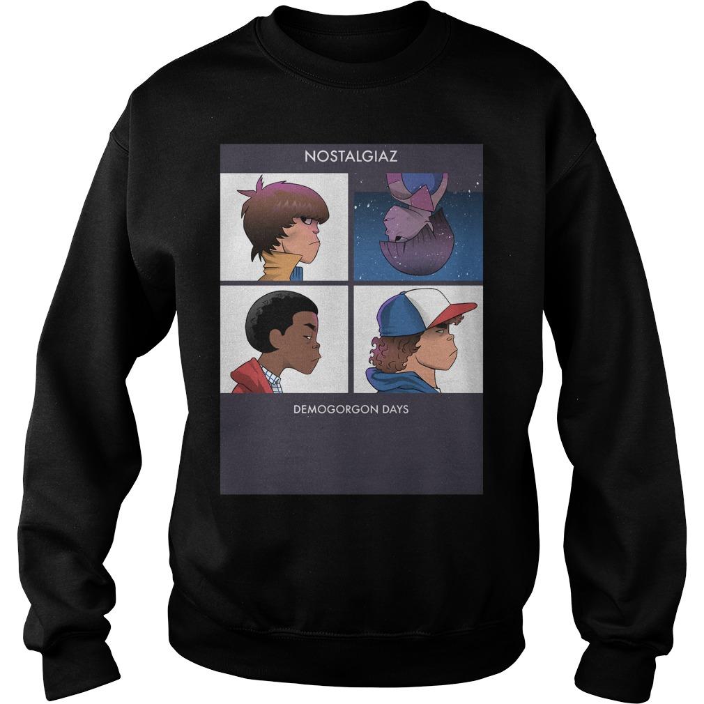 Stranger Things Nostalgiaz And Demogorgon Days Shirt