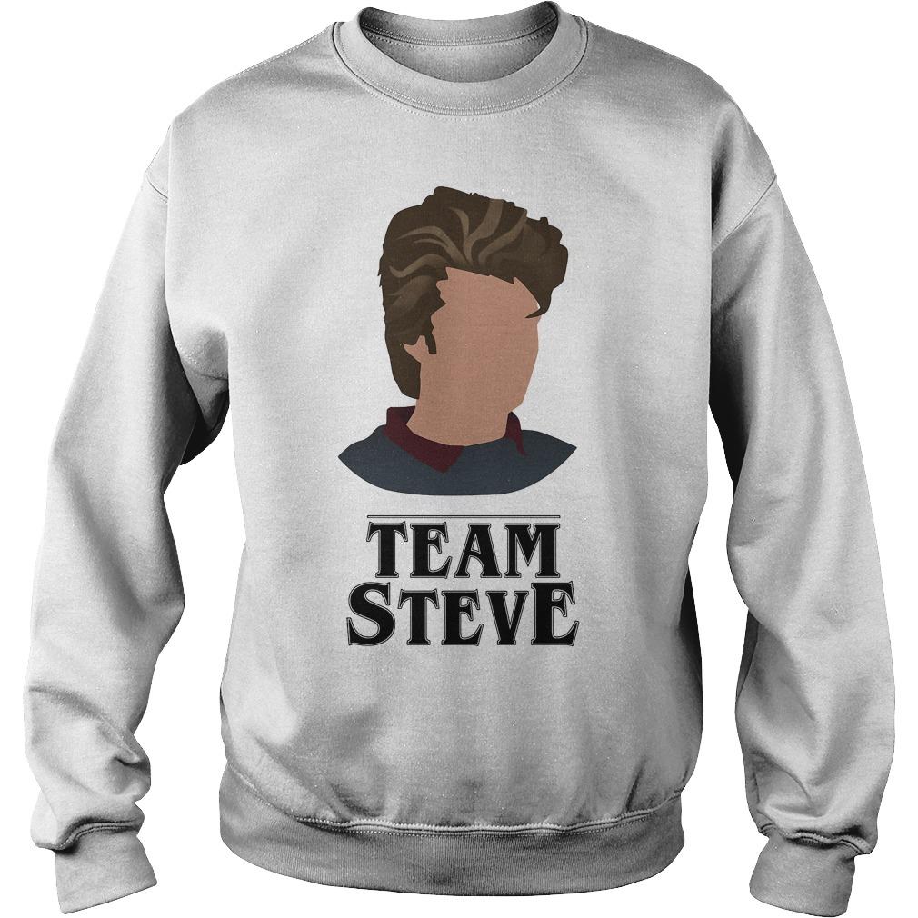 Team Steve Harrington Stranger Things Shirt, Hoodie, Sweater And V Neck T Shirt