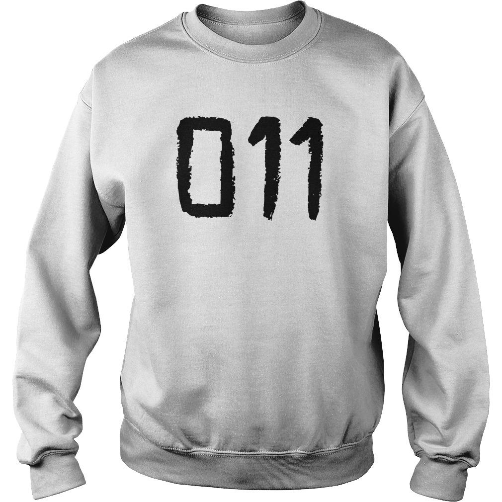 011 Eleven Tattoo Design Shirt
