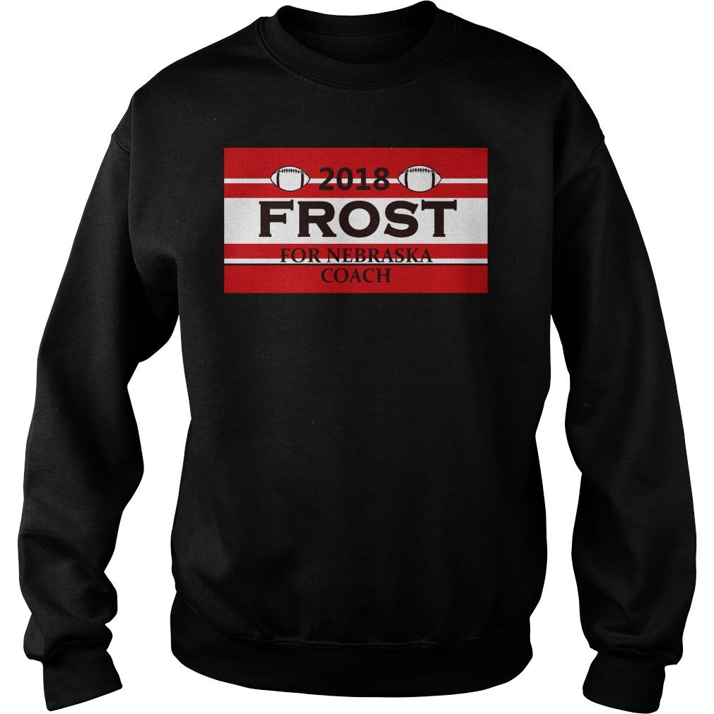 2018 Frost For Nebraska Coach Shirt