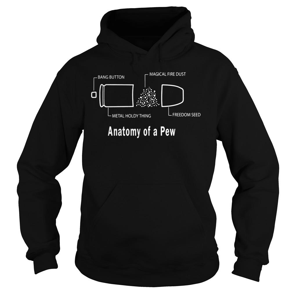 Anatomy Pew Geometry Pews Case Hoodie