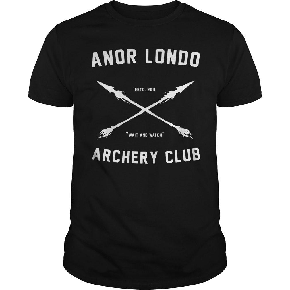 Anor Londo Archery Club Shirt