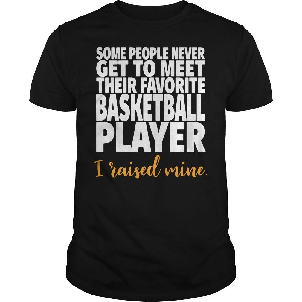 Basketball Mom Favorite Player Shirt