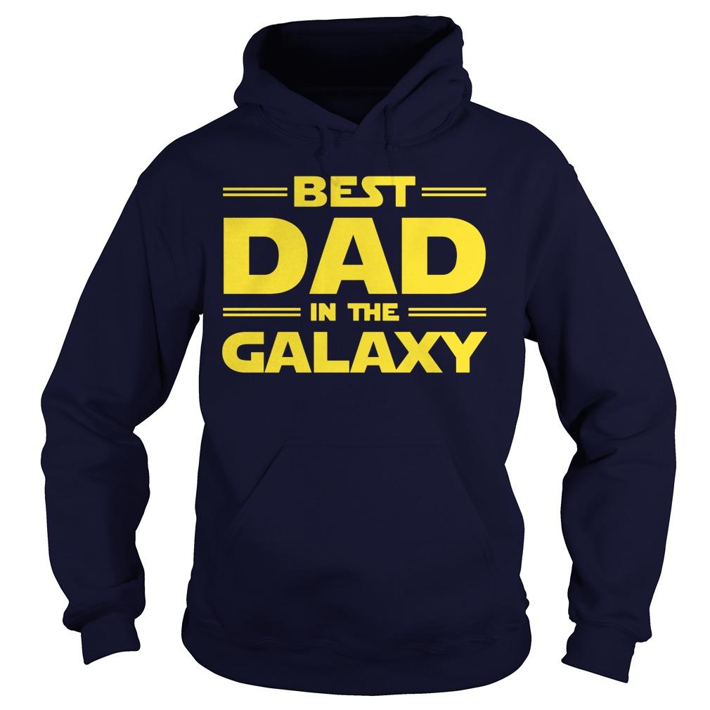 Best Dad Galaxy Hoodie