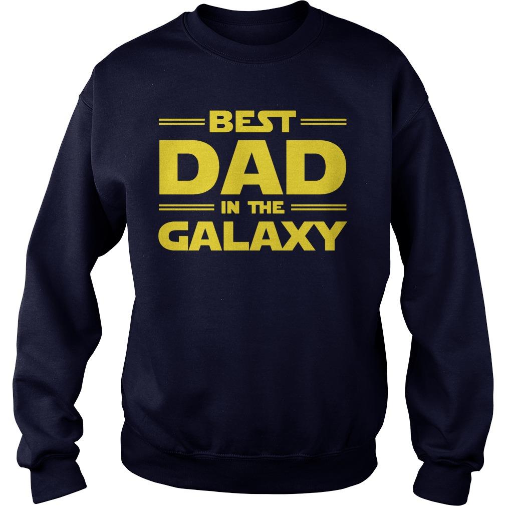 Best Dad Galaxy Ladies Tee