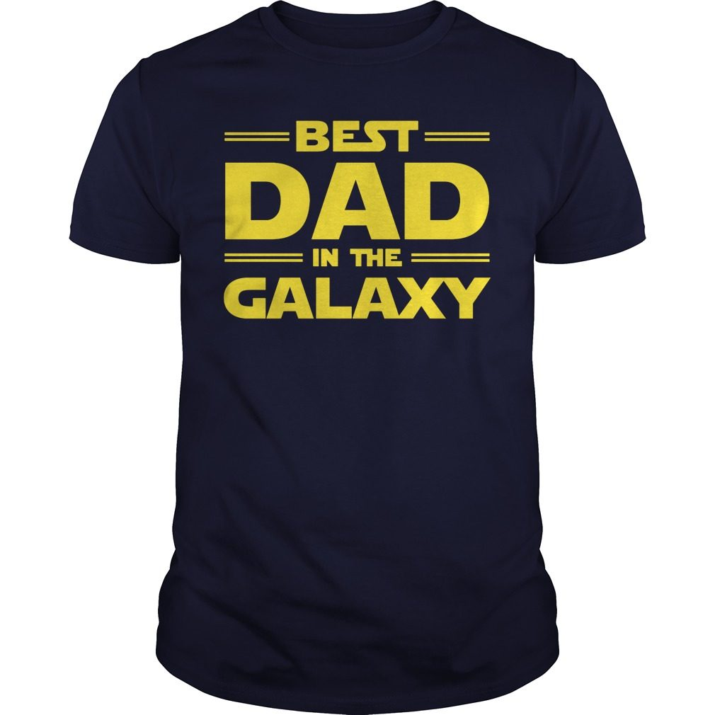 Best Dad Galaxy Shirt