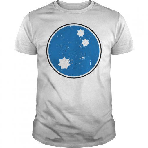 Blue Squadron Star Wars Distressed Shirt