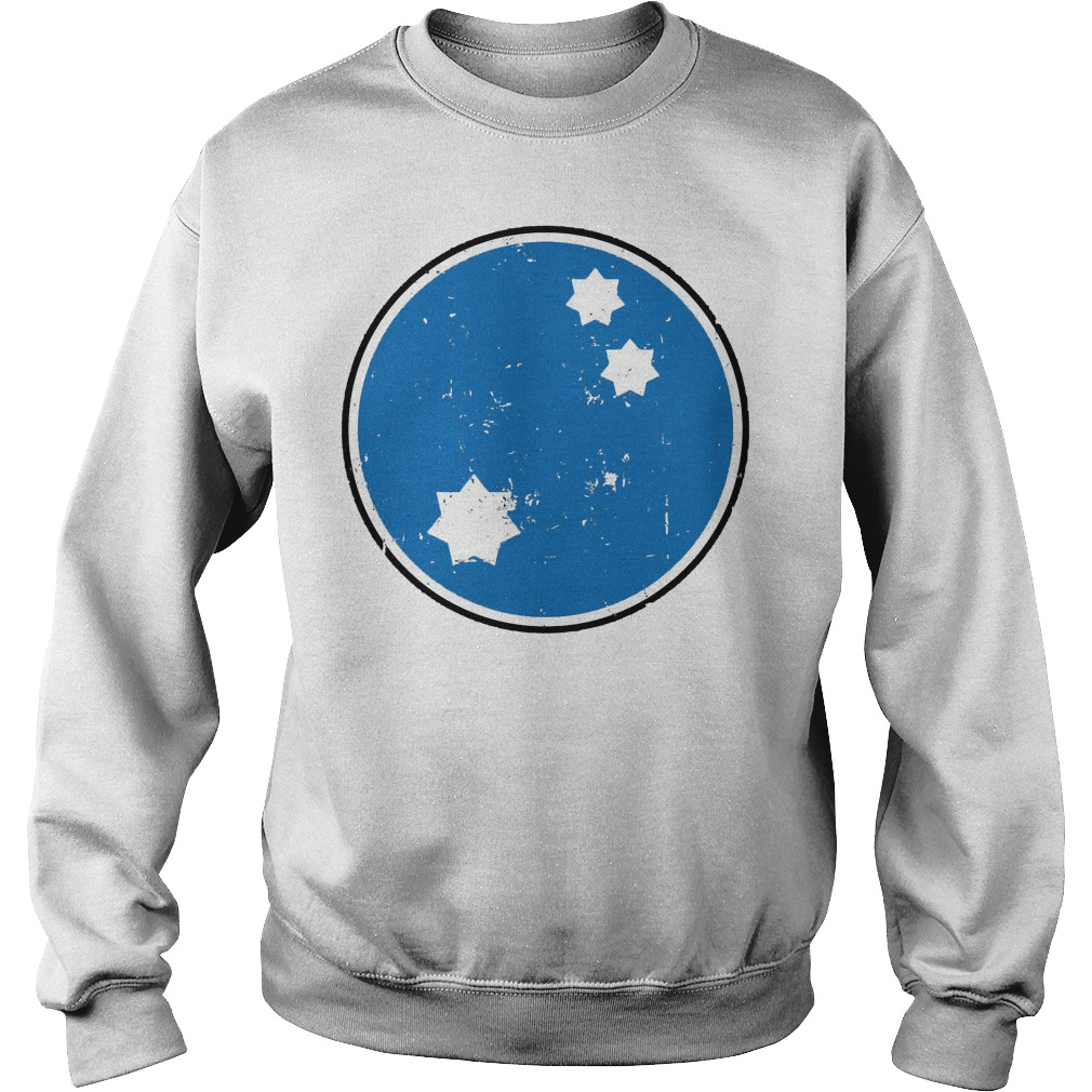 Blue Squadron Star Wars Distressed Sweater