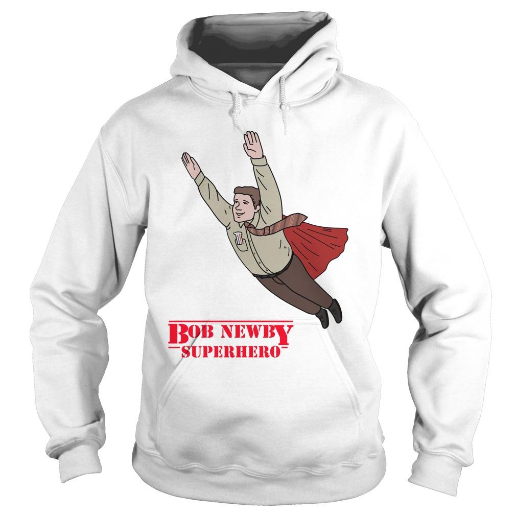 Bob Newby Superhero Stranger Things Shirt