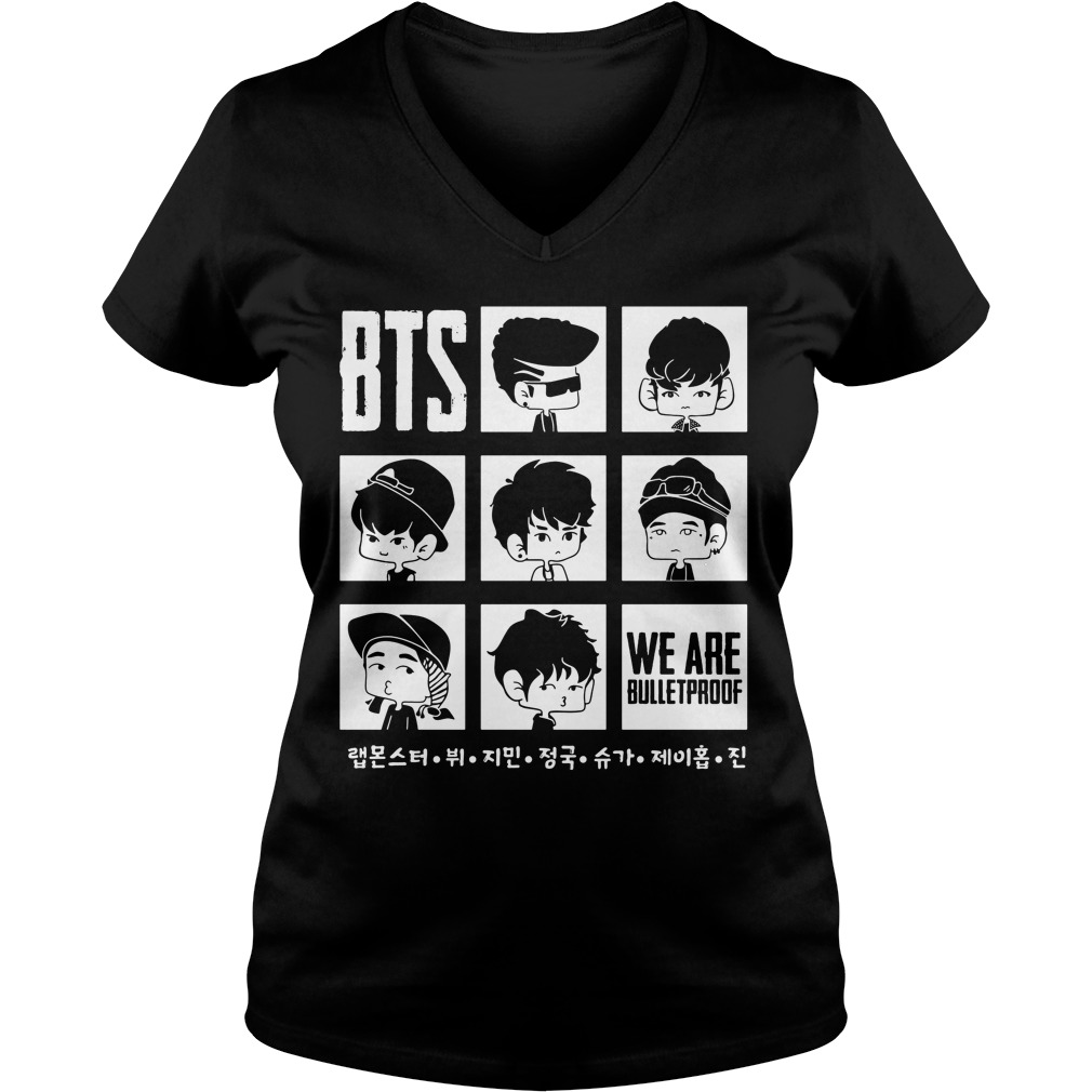 Bts We Are Bulletproof Chibi Shirt, Hoodie, Sweater And V Neck T Shirt