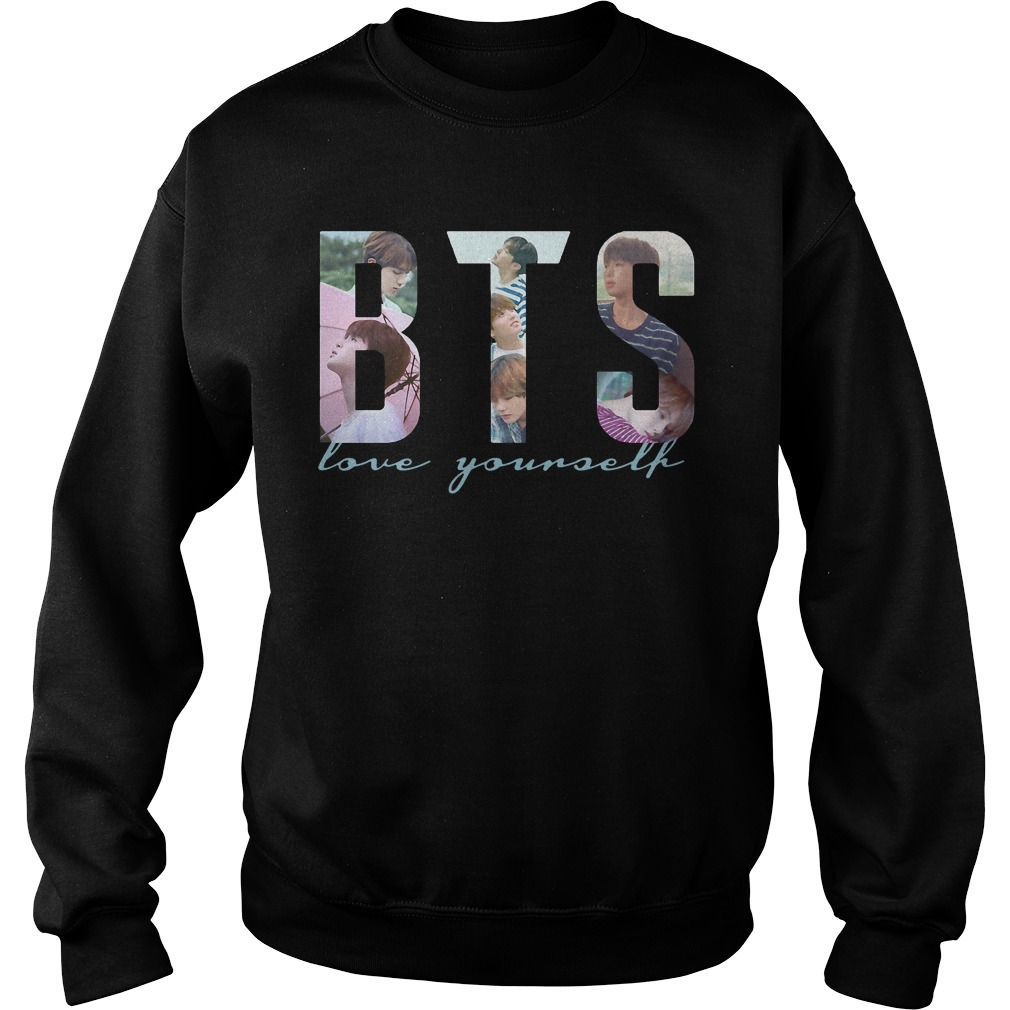Bts Love Yourself Shirt Hoodie Sweater And V Neck T Shirt