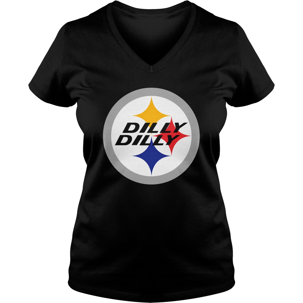 Bud Light Pit Of Misery The Sequel Dilly Dilly Pittsburgh V-neck t-shirt