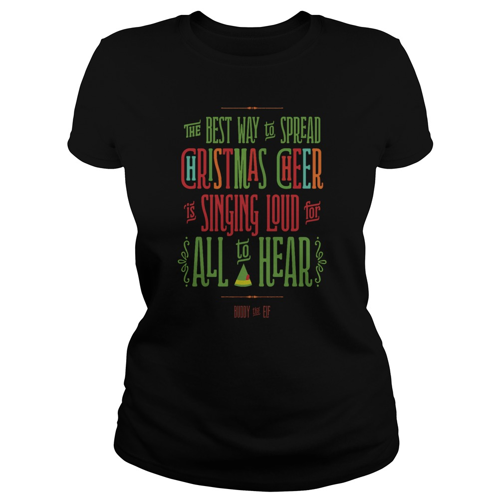 Buddy The Elf Christmas Cheer Sweater, Shirt, Hoodie And Longsleeve Tee
