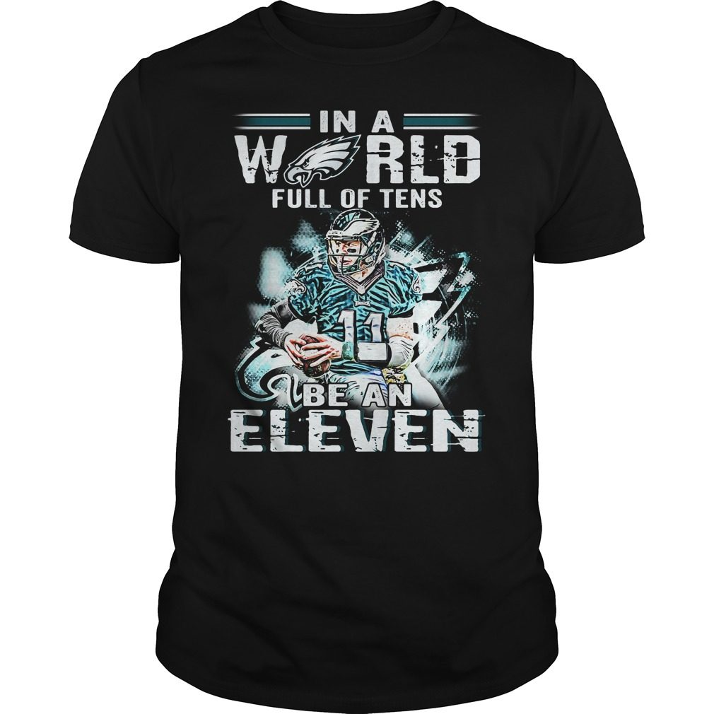 Carson Wentz World Full Tens Eleven Shirt