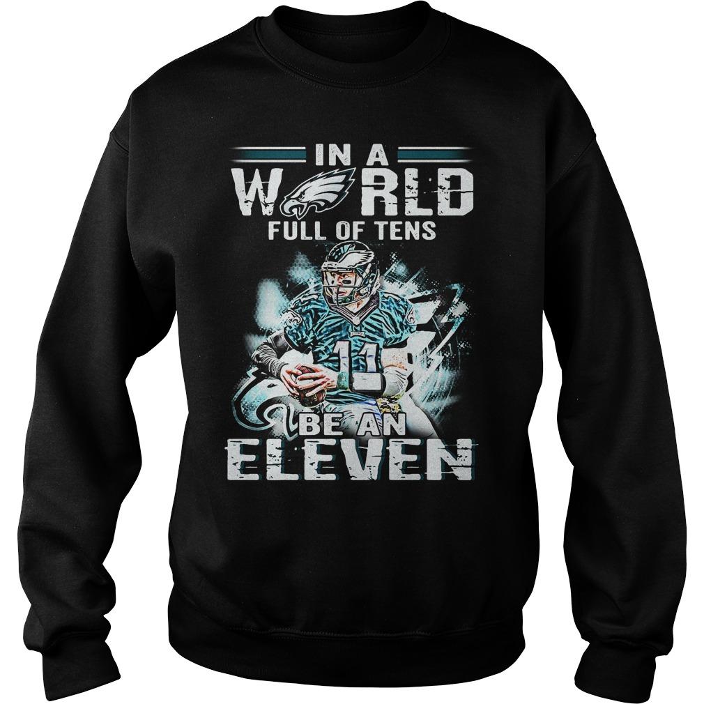 Carson Wentz World Full Tens Eleven Sweater