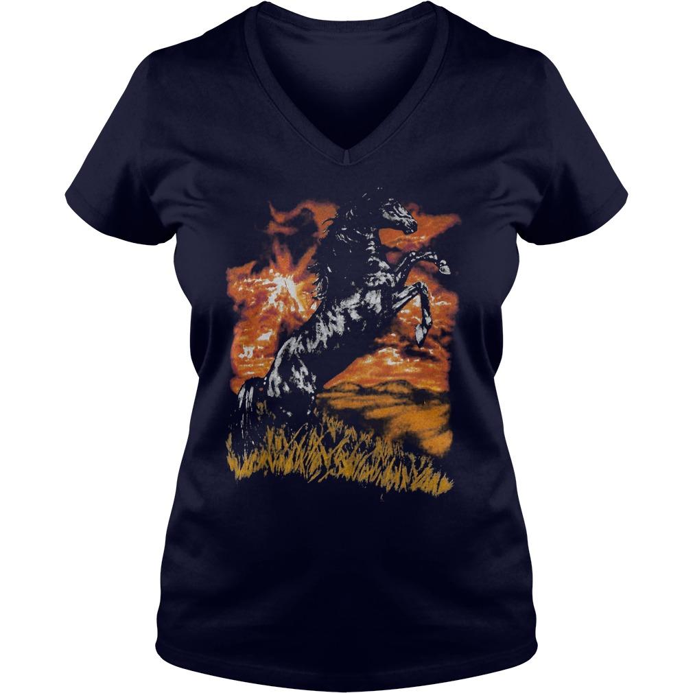 Charlie Horse V-neck t-shirt