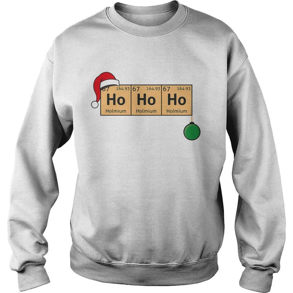 Chemistry Christmas Ho Ho Ho Sweater, Shirt, Hoodie And Longsleeve Tee