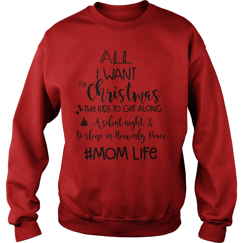 Ladies tee Christmas Mom Life Shirt 275ea2696