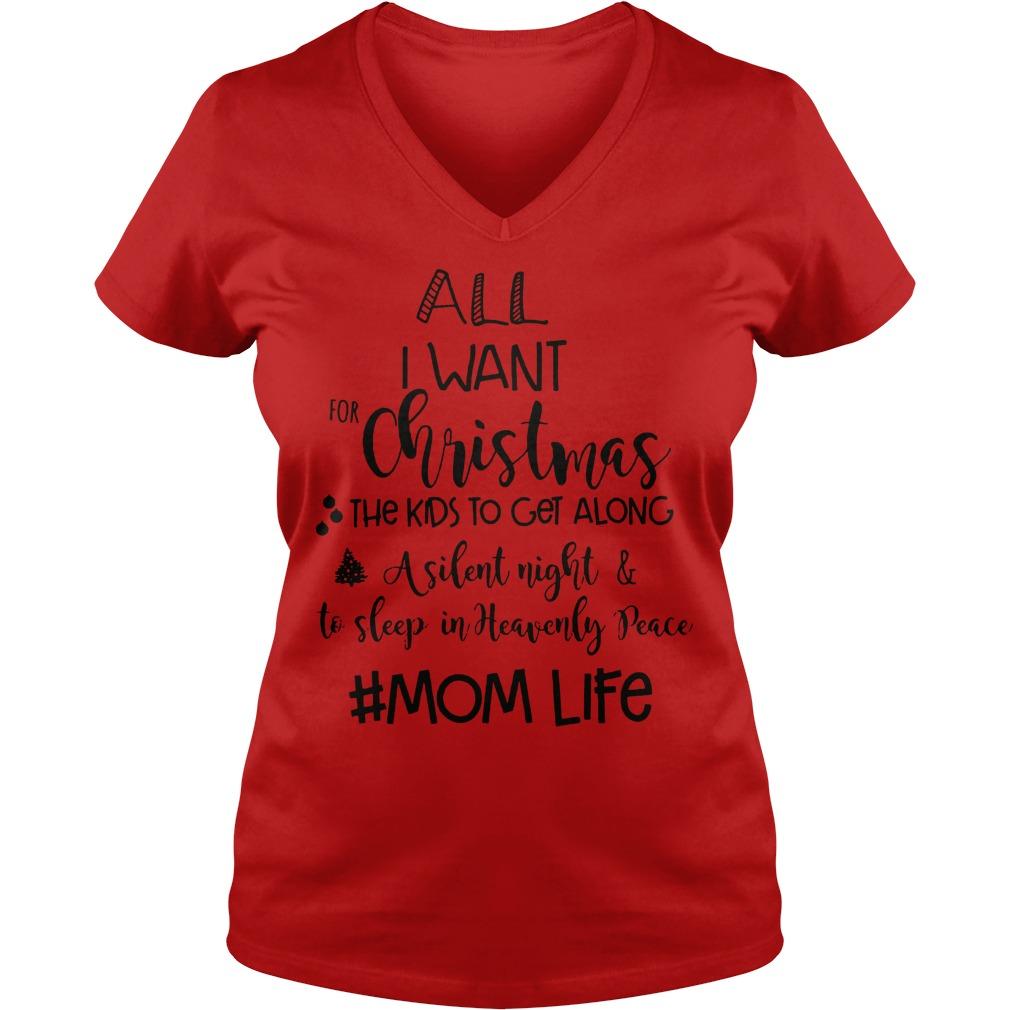 Christmas Mom Life Shirt