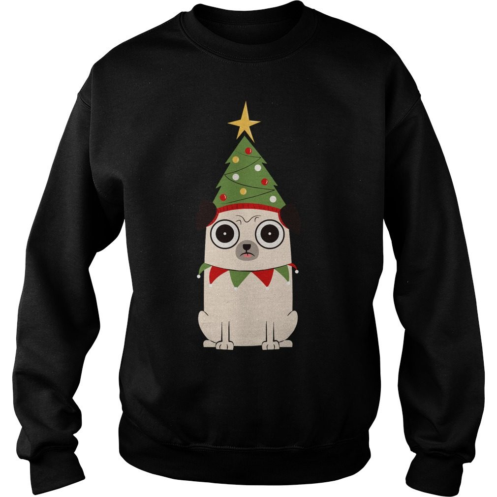 It's Christmas For Pug's Sake Sweater