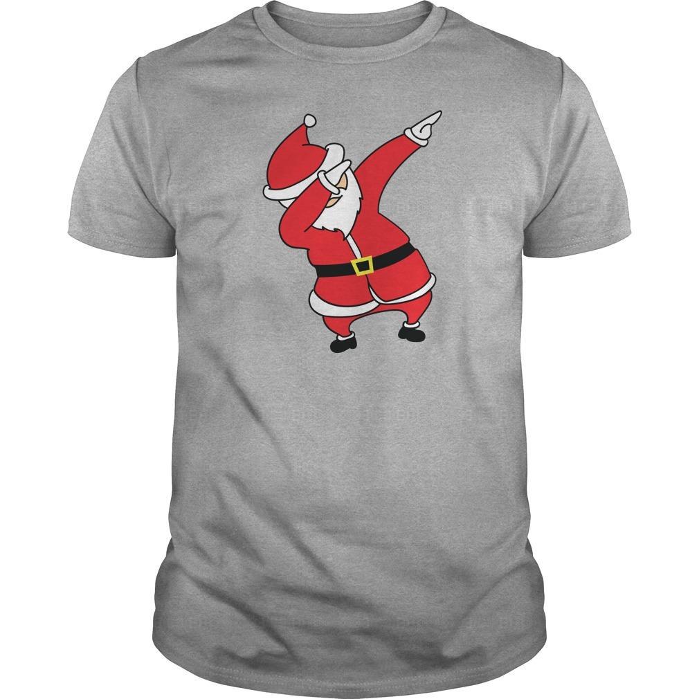 Dabbing Santa Claus Christmas Sweater, Shirt, Hoodie And Longsleeve Tee