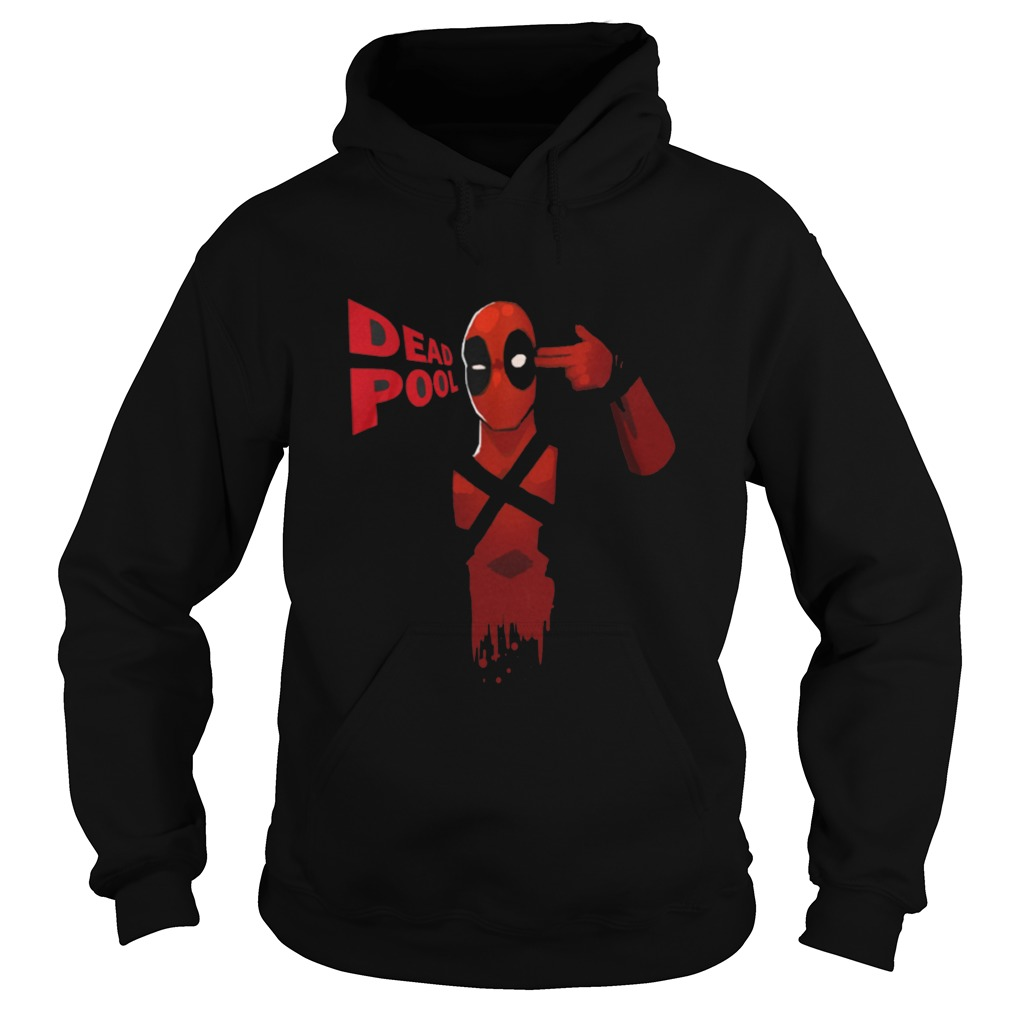 Deadpool Black Full Sleeve Hoodie