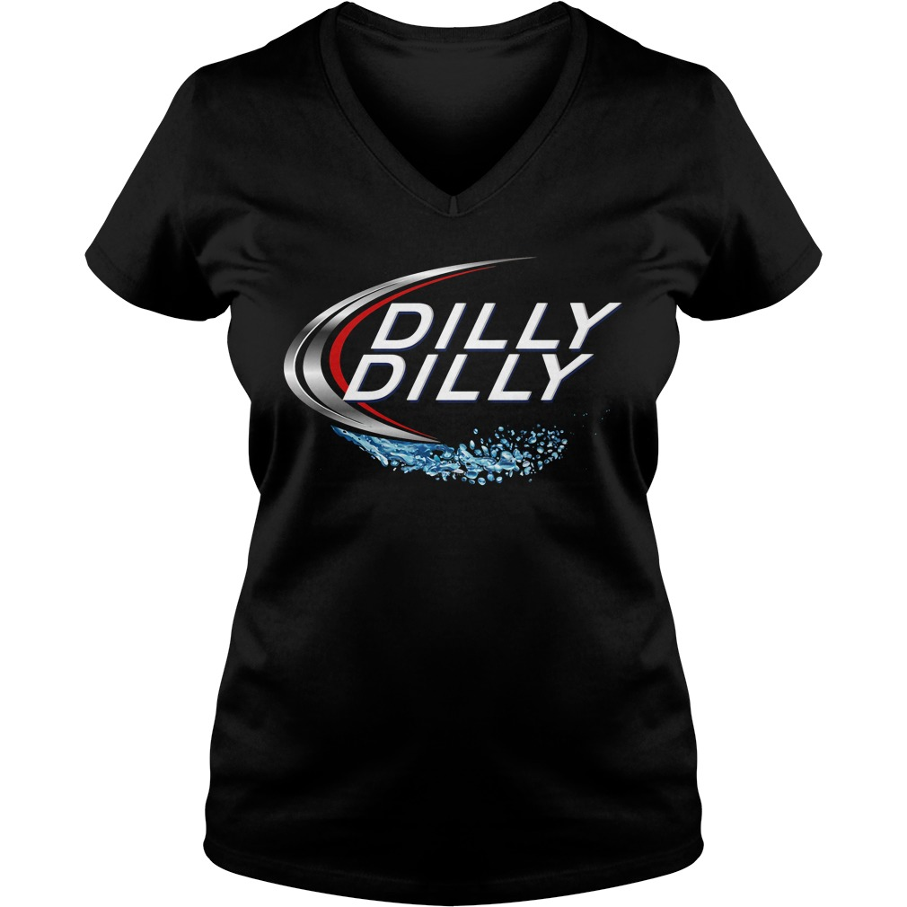 Dilly Dilly Bud Light V Neck T Shirt