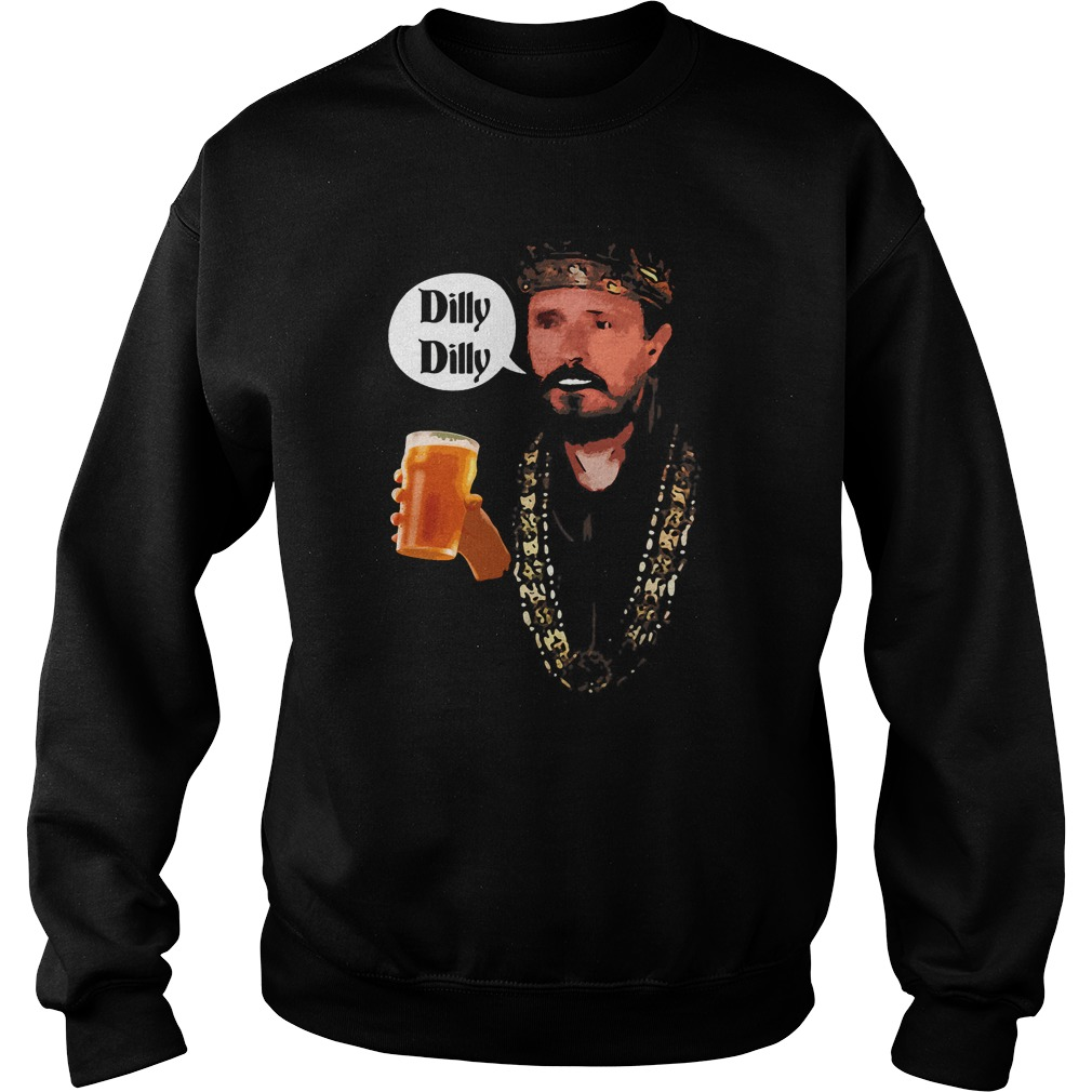 Dilly Dilly King Says Cheers Beer Drinking Sweater